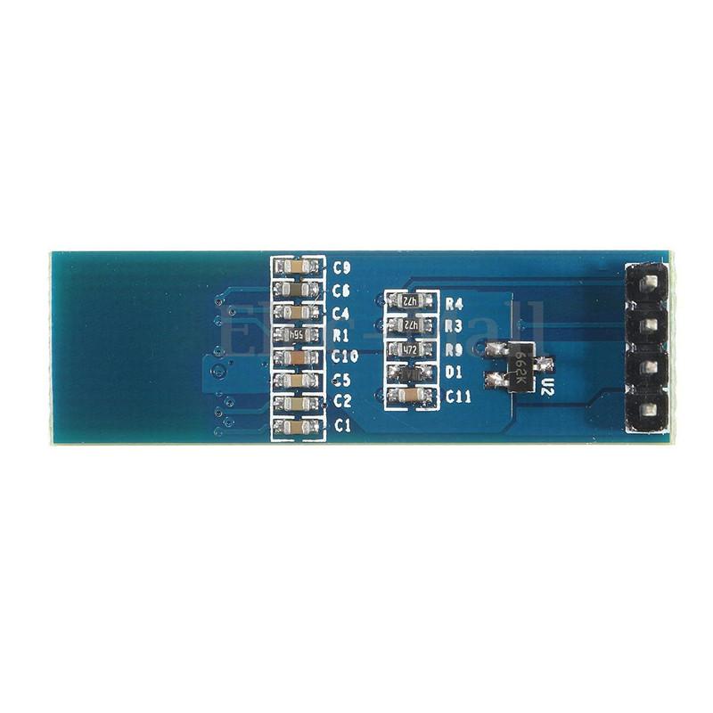 """IIC I2C 0.91/"""" 128x32 white OLED LCD Display Module 3.3v 5v For Arduino TC"""