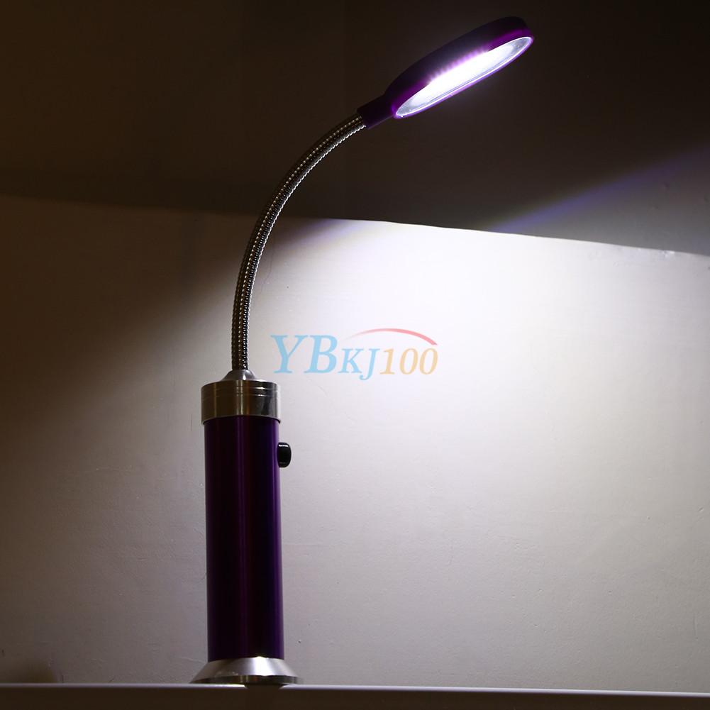Led Work Light Gooseneck: Magnetic LED Light Mini Table Lamp Work Tool With Flexible