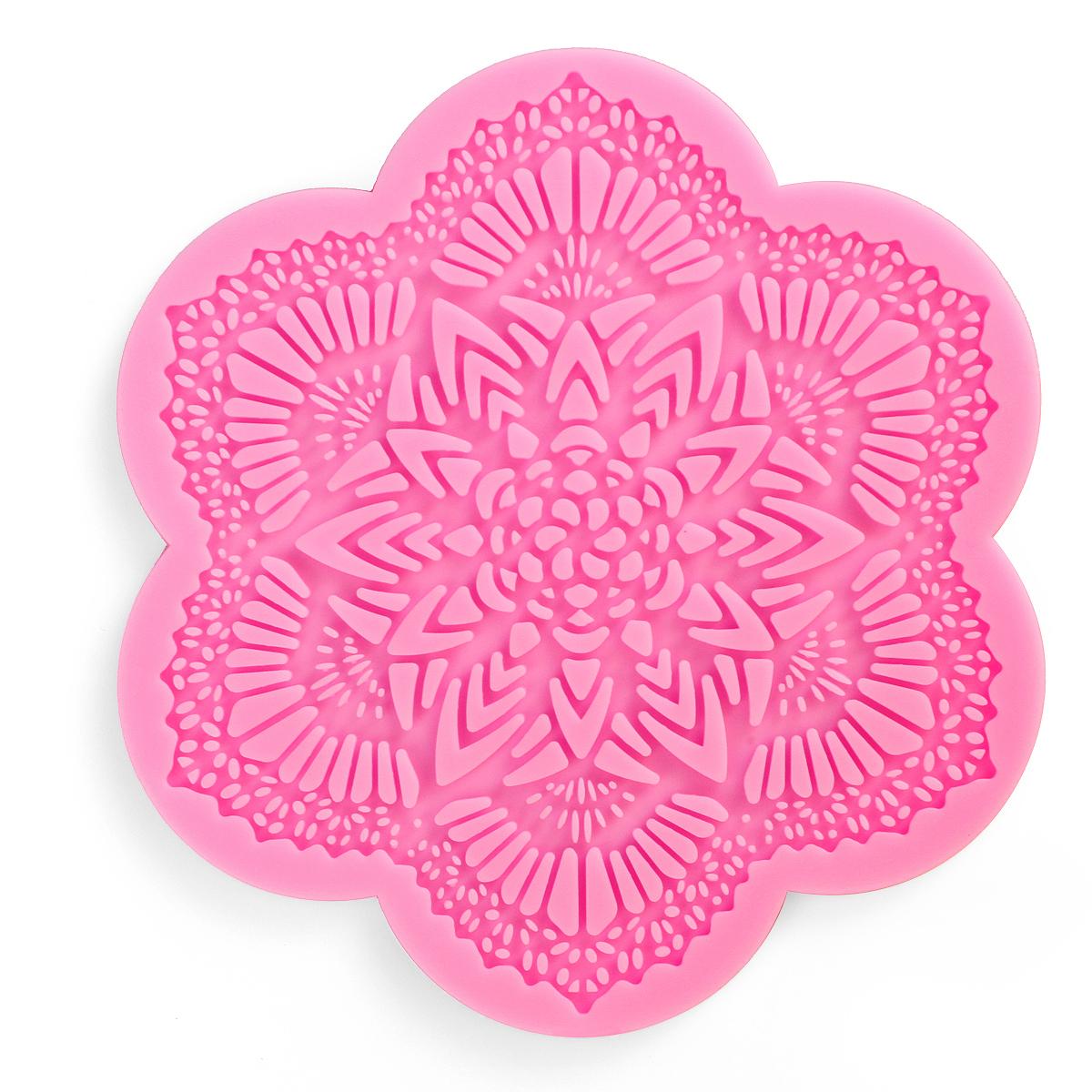 Cake Decorating Lace Molds Uk : DIY Lace Silicone Mold Mould Sugar Craft Fondant Mat Cake ...