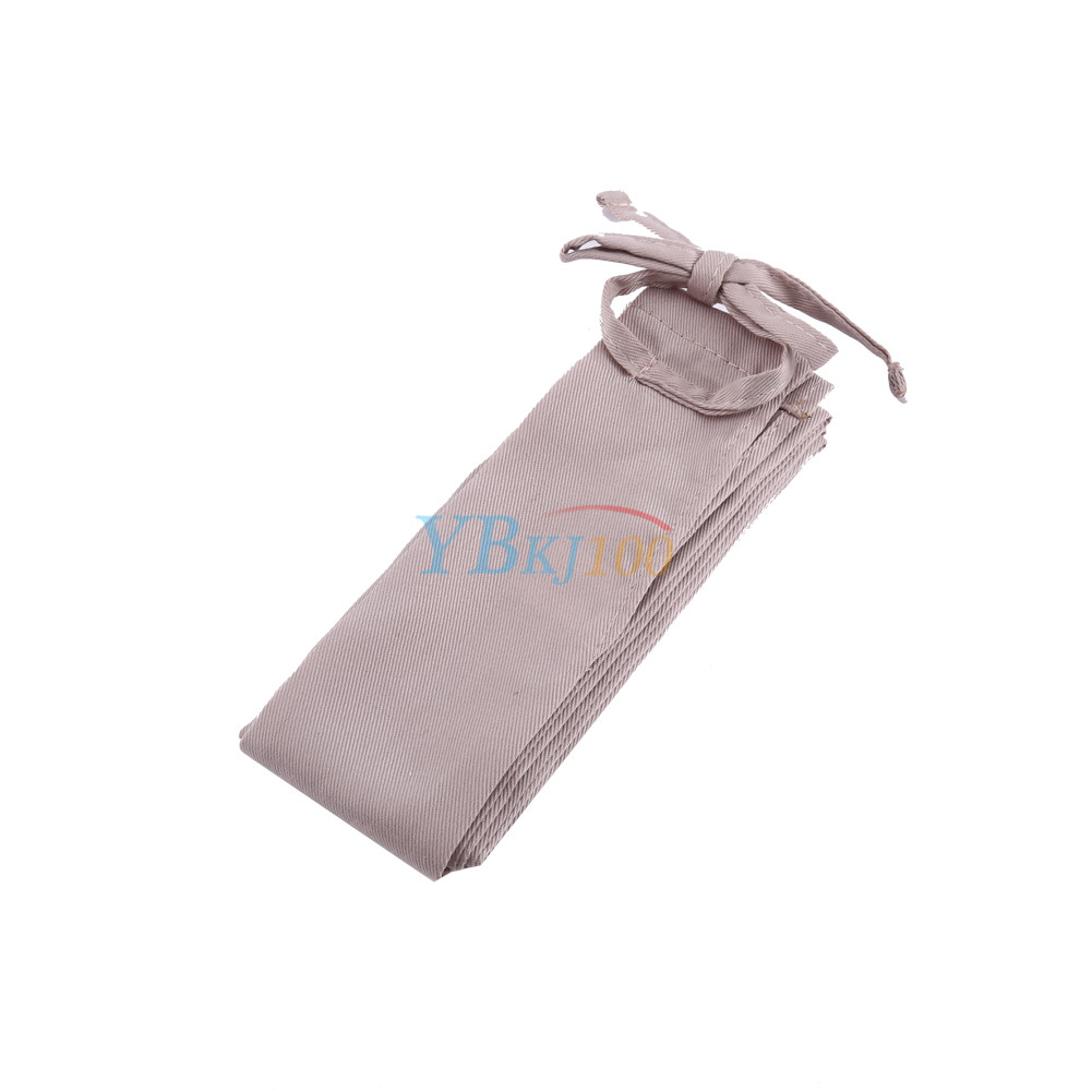4 colors cotton cloth fishing rod sleeve cover fish pole for Fishing pole sleeves