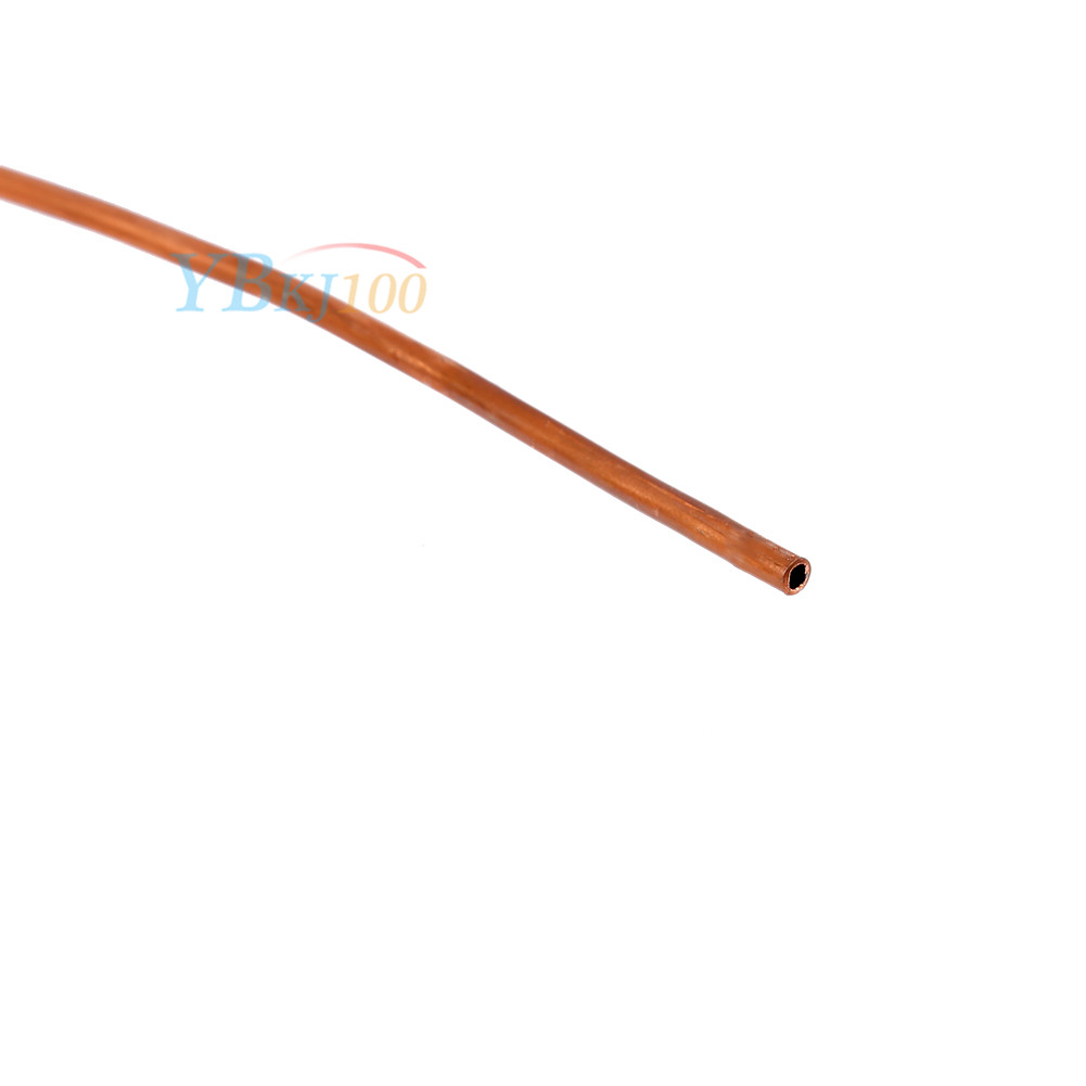 2m soft copper round tubing pipe od 4mm x id 3mm for for Copper vs plastic pipes