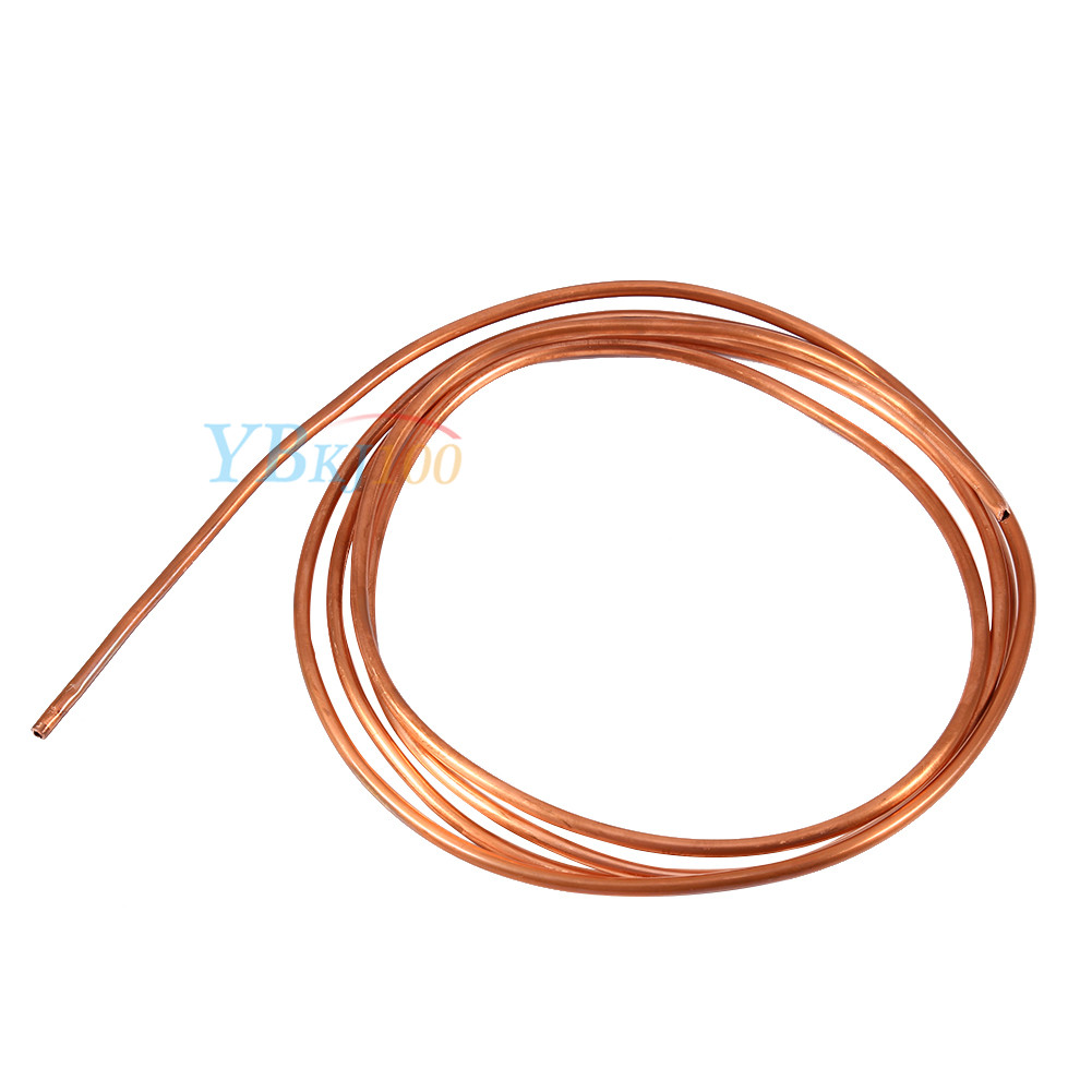 2m Soft Copper Round Tubing Pipe Od 4mm X Id 3mm For