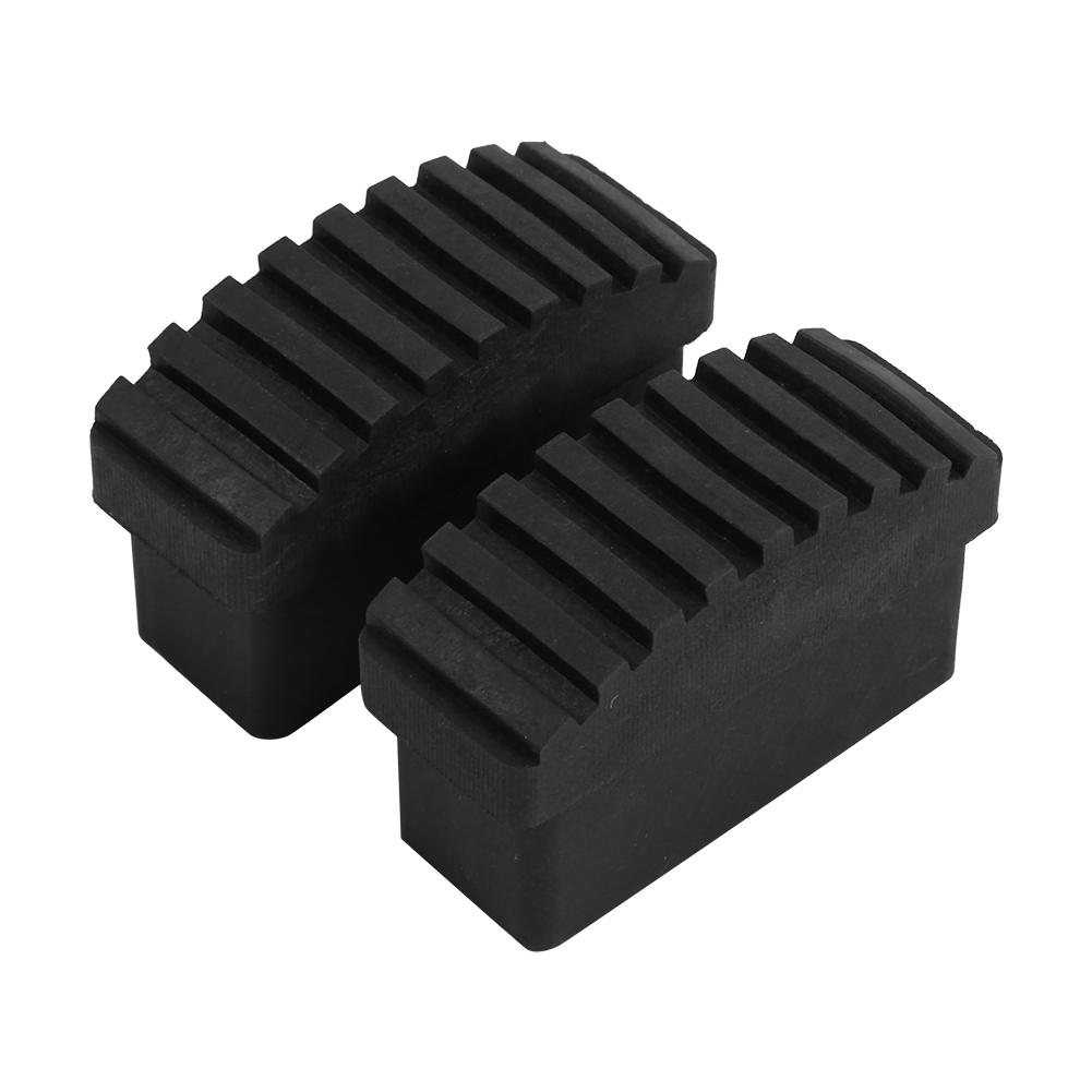 New 2pcs Replacement Rubber Feet Non Slip Ladder Foot Mat