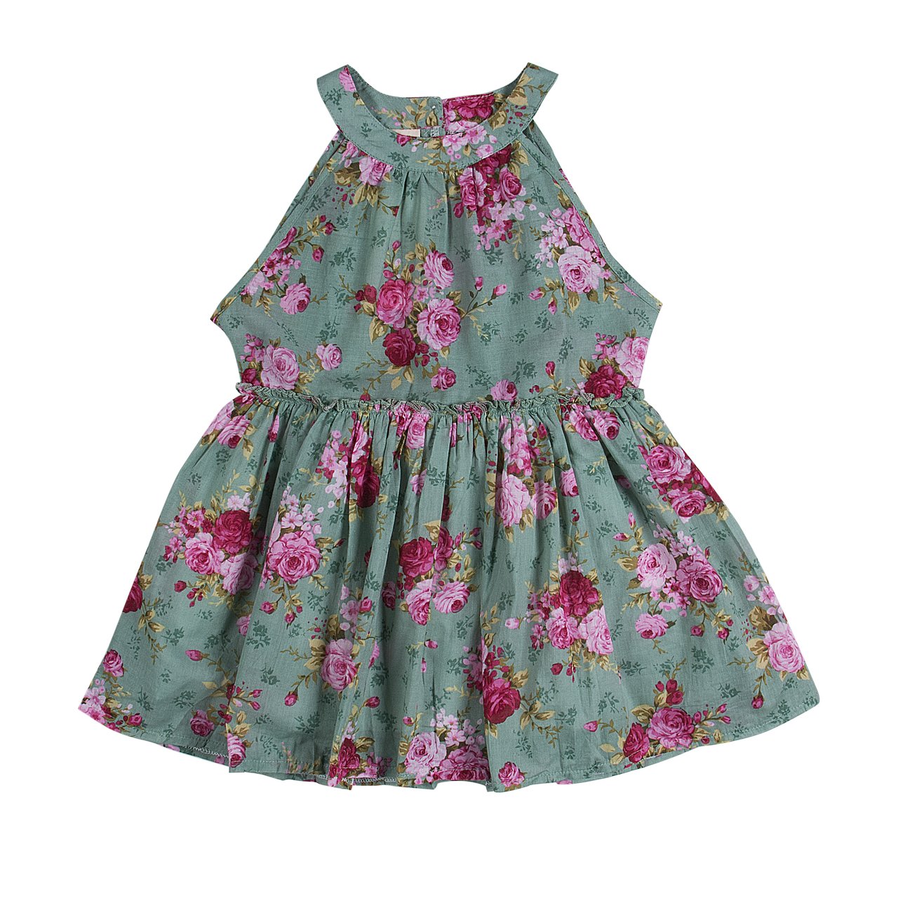 Newborn Baby Girl Clothes Kids Floral Dresses Baby Outfit Party Princess Dress | EBay