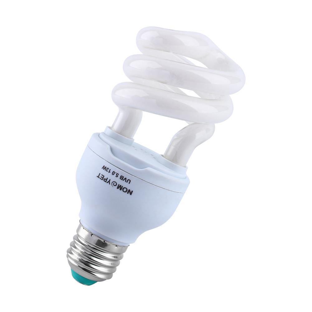5 0 Uvb 13w Reptile Spiral Light Bulb Uv Lamp Vivarium Terrarium Tortoise Lizard Ebay