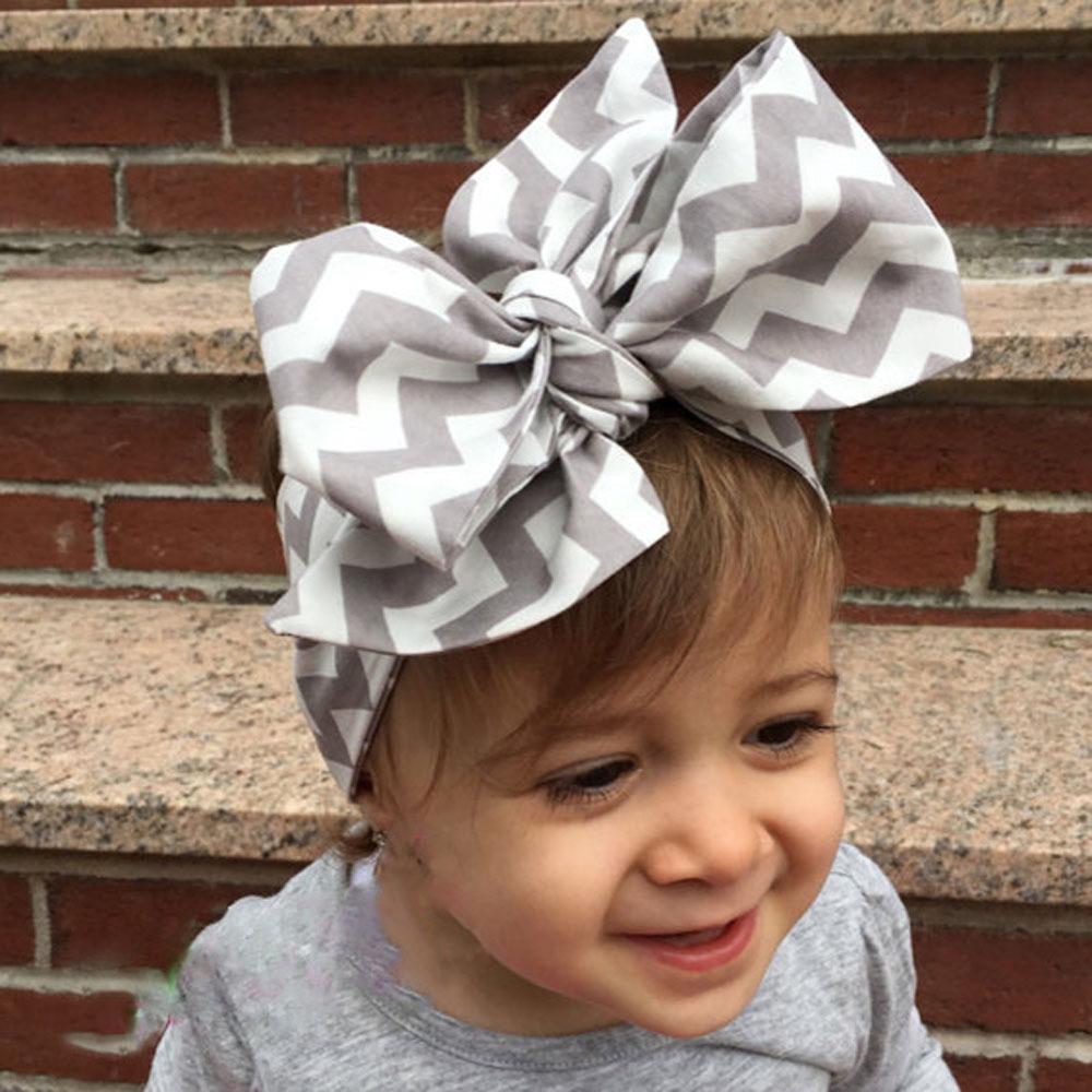 bcbcf19b679cc Children Newborn Baby Girls DIY Hair Bow Headband Hair Accessories ...