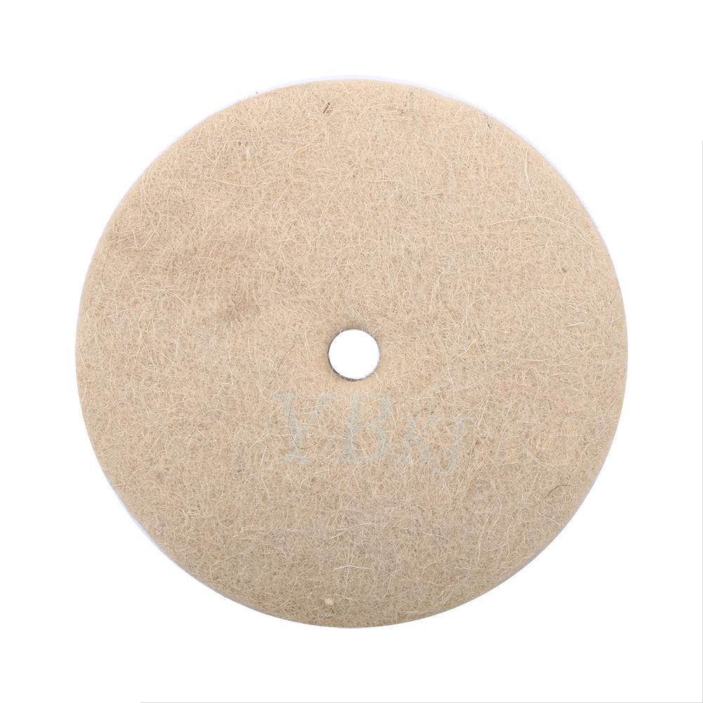 Soft Wool Polishing Buffing Grinding Wheel Disc Pad For