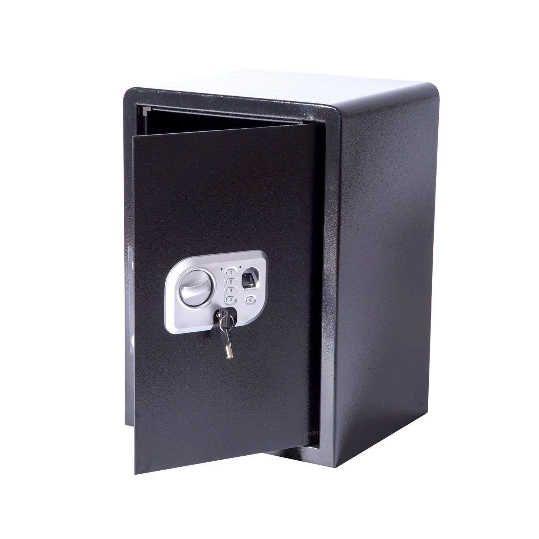 tenive 20 digital electronic safe box safe box keypad lock security fingerprint ebay. Black Bedroom Furniture Sets. Home Design Ideas