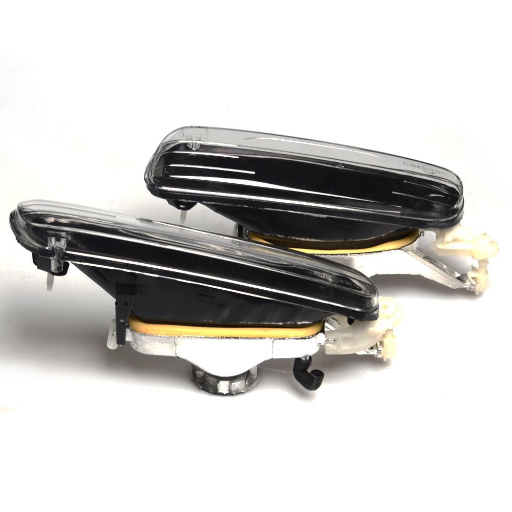 2x For 12v 55w 1999 2001 Bmw 3 Series E46 4door Fog Lights