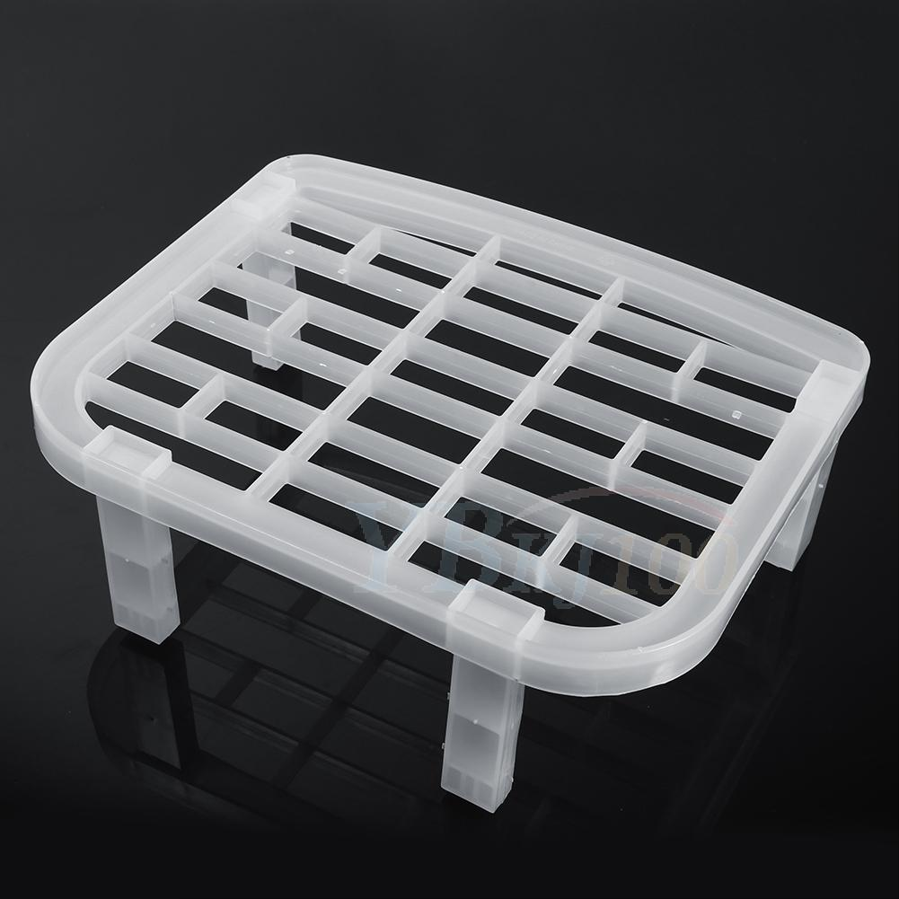 Space Saving Dish Plate Drying Rack Organizer Storage Holder Shelf Kitchen Tool Ebay