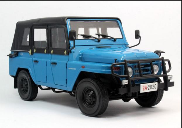 1:18 beijing bj212 jeep 2020 die cast model | ebay
