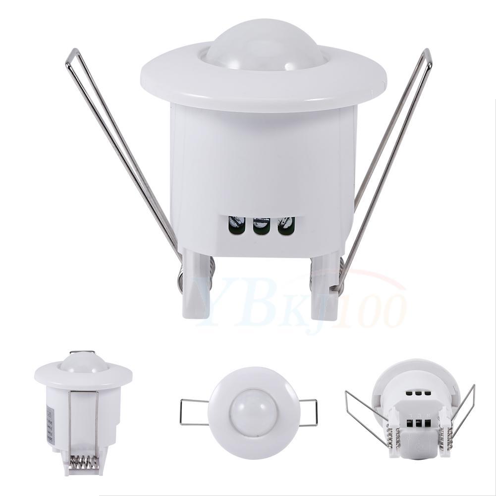 Indoor Room Ceiling Infrared Motion Body Sensor Detector Auto Lamp Light Switch Ebay