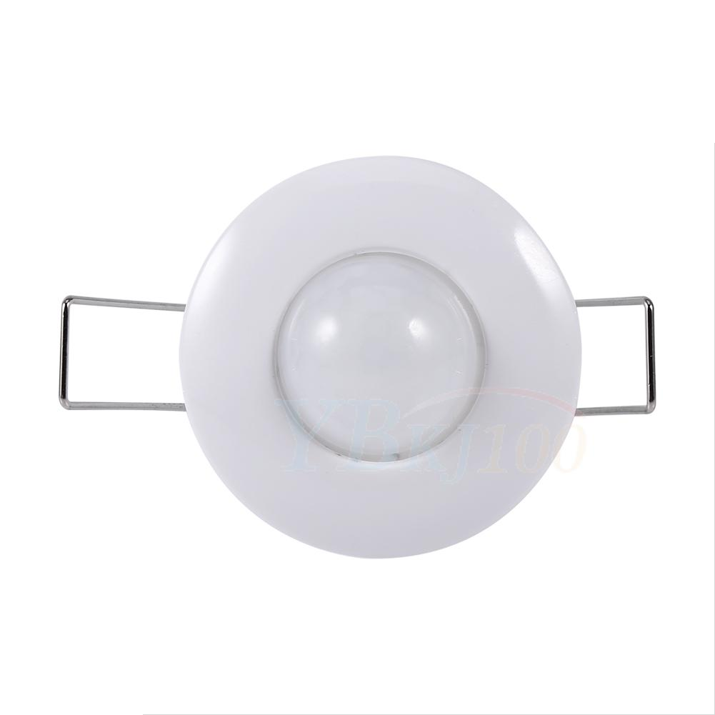 Indoor room ceiling infrared motion body sensor detector auto lamp light switch ebay for Interior motion sensor light switches