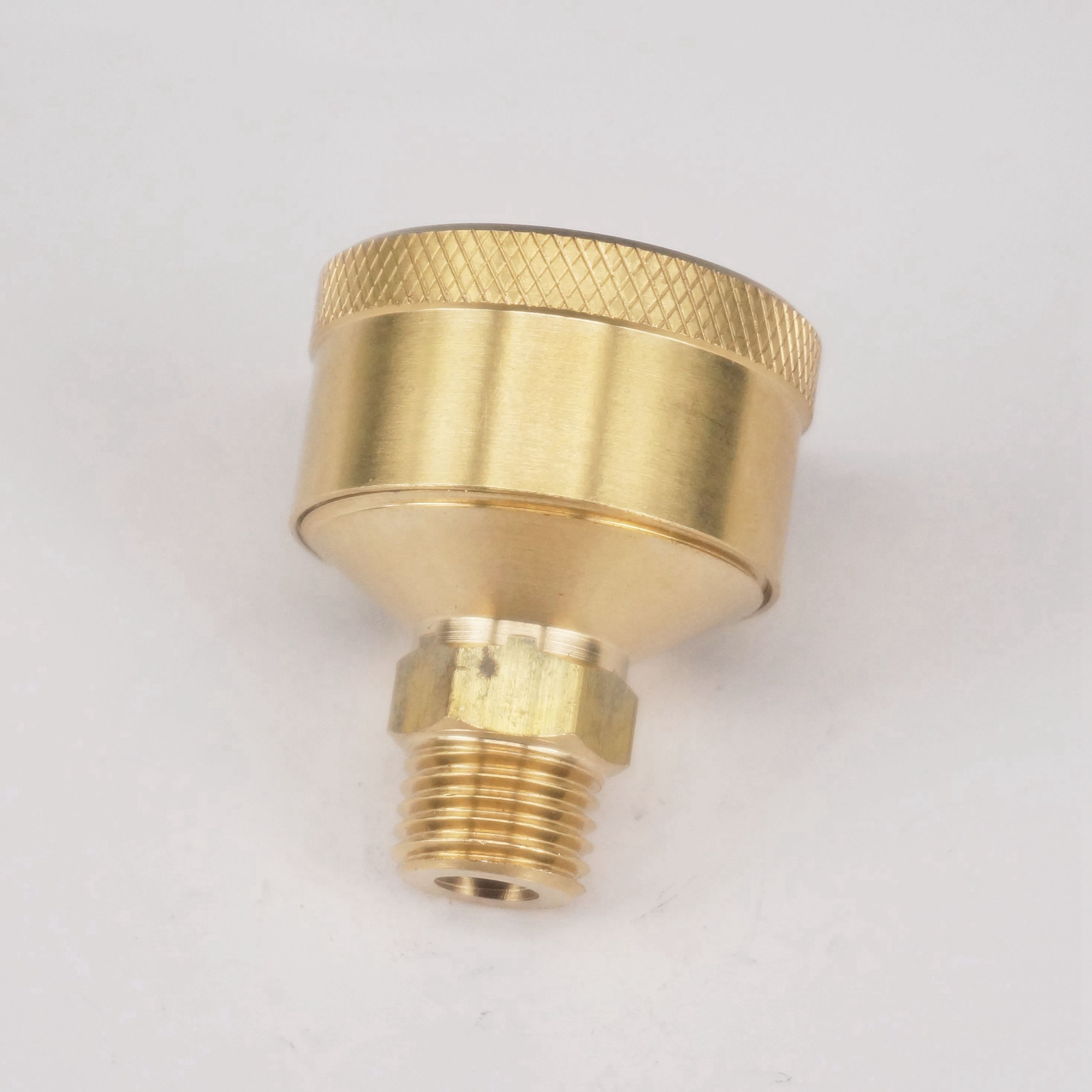 M10 x 1mm Metric 3ml Brass Grease Oil Cup Oiler Spring Cap Hit Miss Engine