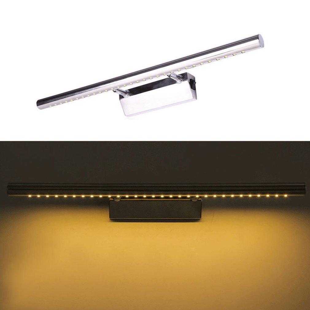 Spiegellampe Mit Schalter : de spiegellampe mit schalter led spiegelleuchte badleuchte spiegel bilderleuchte ebay ~ Whattoseeinmadrid.com Haus und Dekorationen