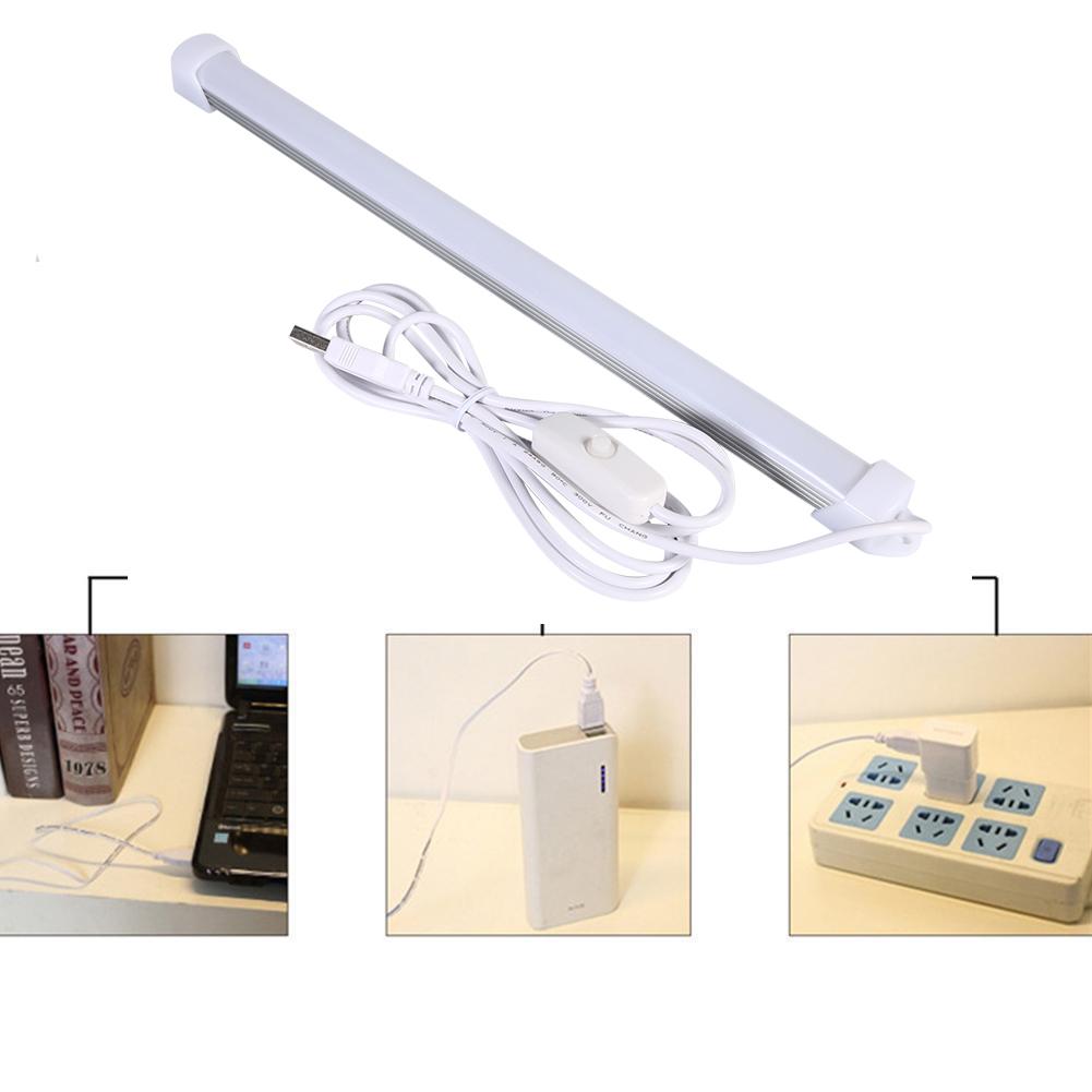 5w switch usb led light lamp tube hard strip white light bulbs portable am ebay. Black Bedroom Furniture Sets. Home Design Ideas