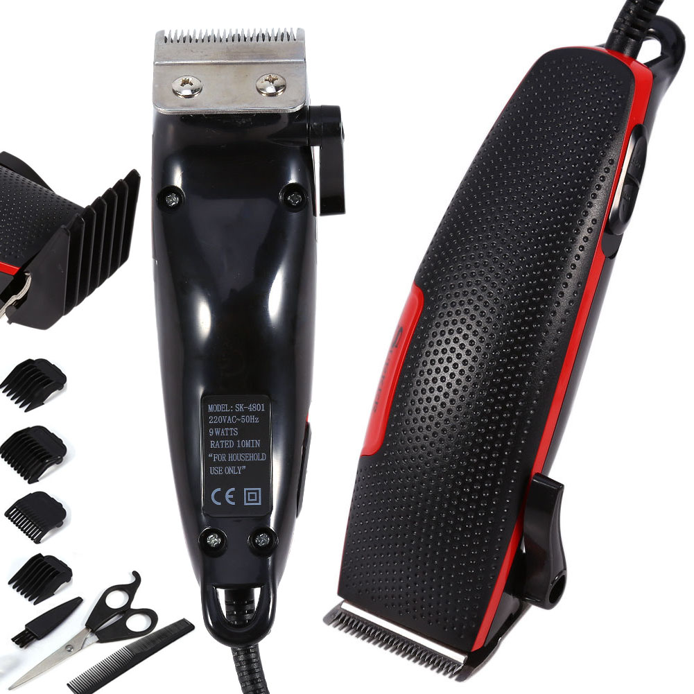 hair clipper 220v pro barber cutting machine electric shaver razor beard trim. Black Bedroom Furniture Sets. Home Design Ideas