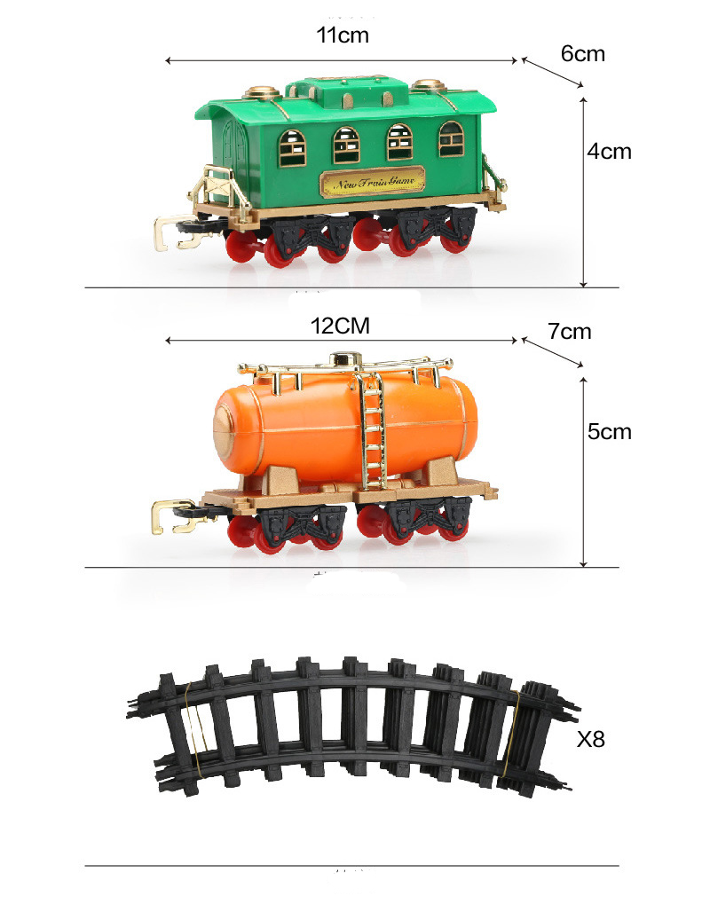 train sets for kids electric classic toy train with real smoke lights and sounds. Black Bedroom Furniture Sets. Home Design Ideas