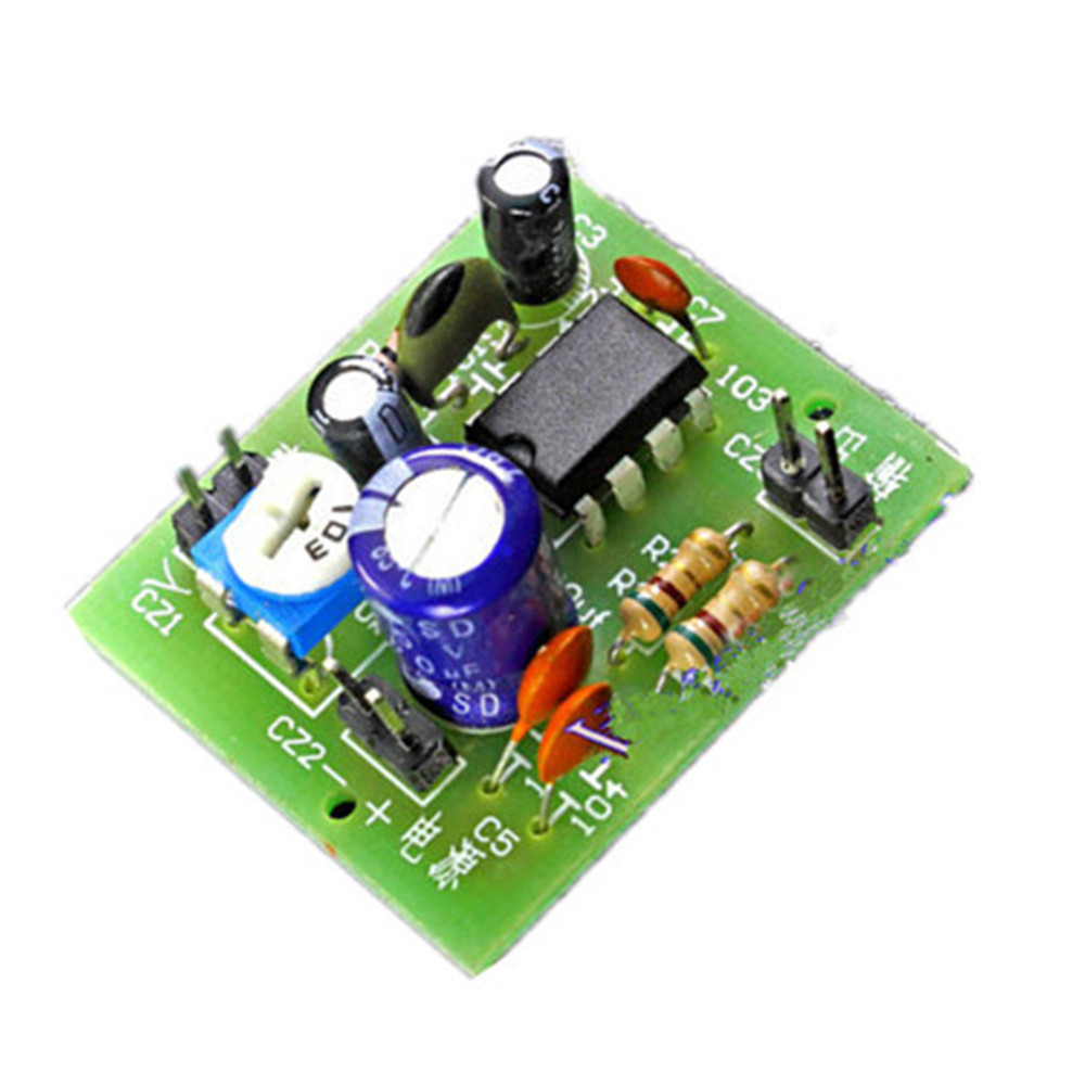Tda2822 Stereo Amplifier Circuit With Pcb