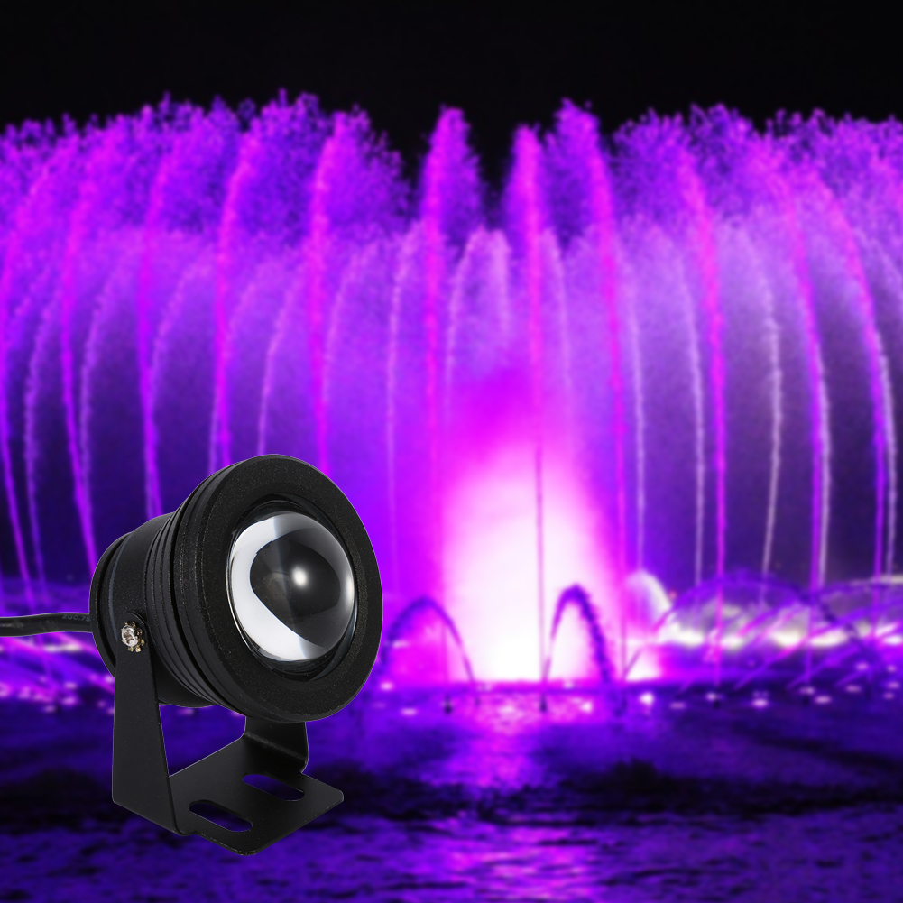 Underwater Lights Fountain Fish Tank Pool Pond Led Spotlight Lamp With Remote Dh Ebay