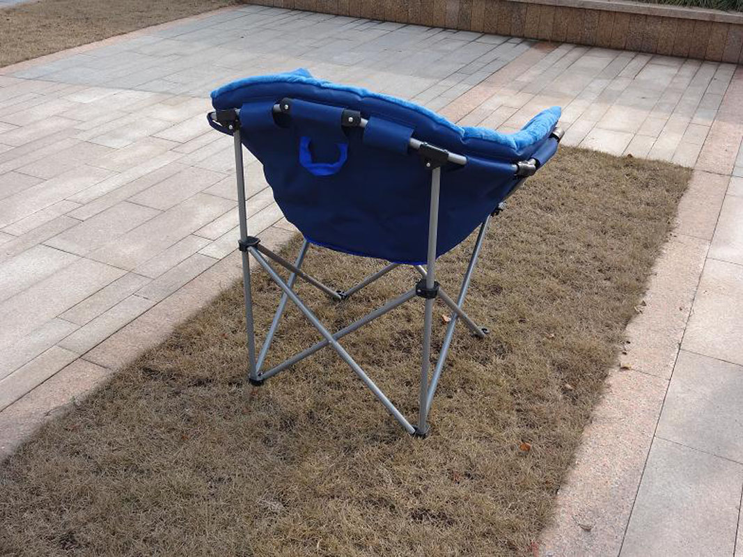 Moon chair folding camping hiking garden indoor outdoor for Outdoor fishing