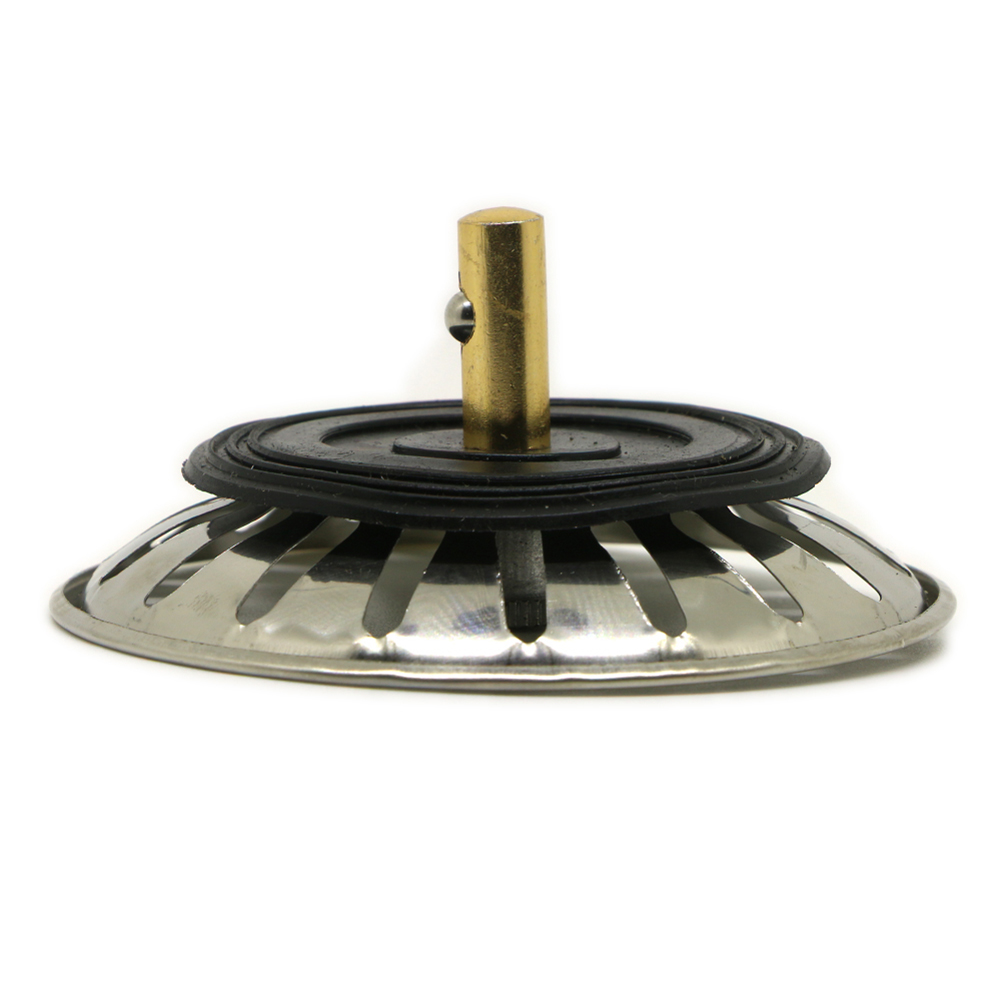 Stainless steel kitchen sink replacement drain waste plug - Kitchen sink plug ...