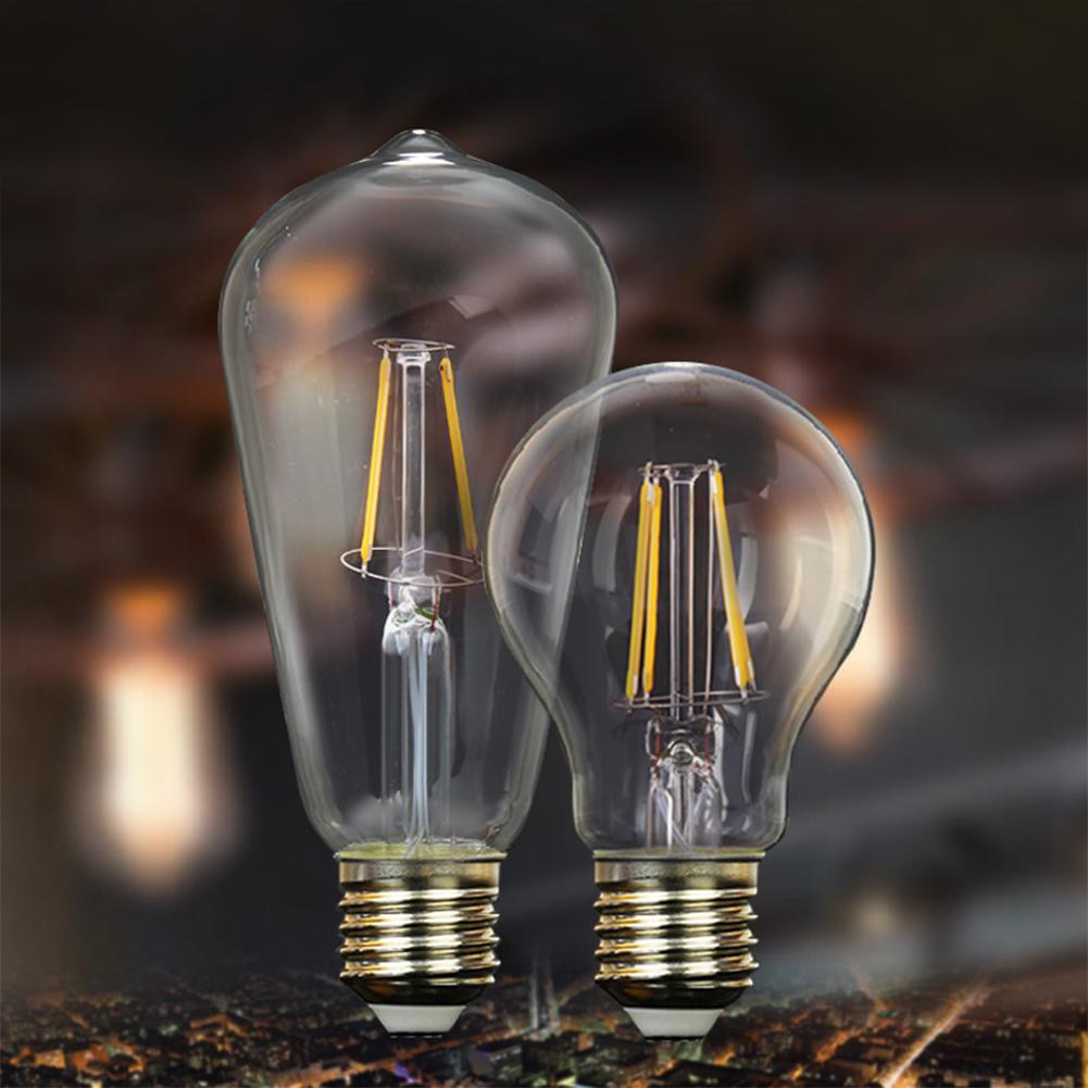 Edison Bulbs 4 Tier Led Vintage Light Bulb: E27 E14 4-16W COB LED RETRO EDISON FILAMENT LIGHT BULB