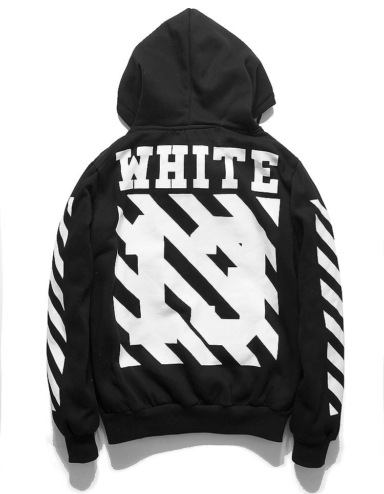 how to clean a black and white hoodie