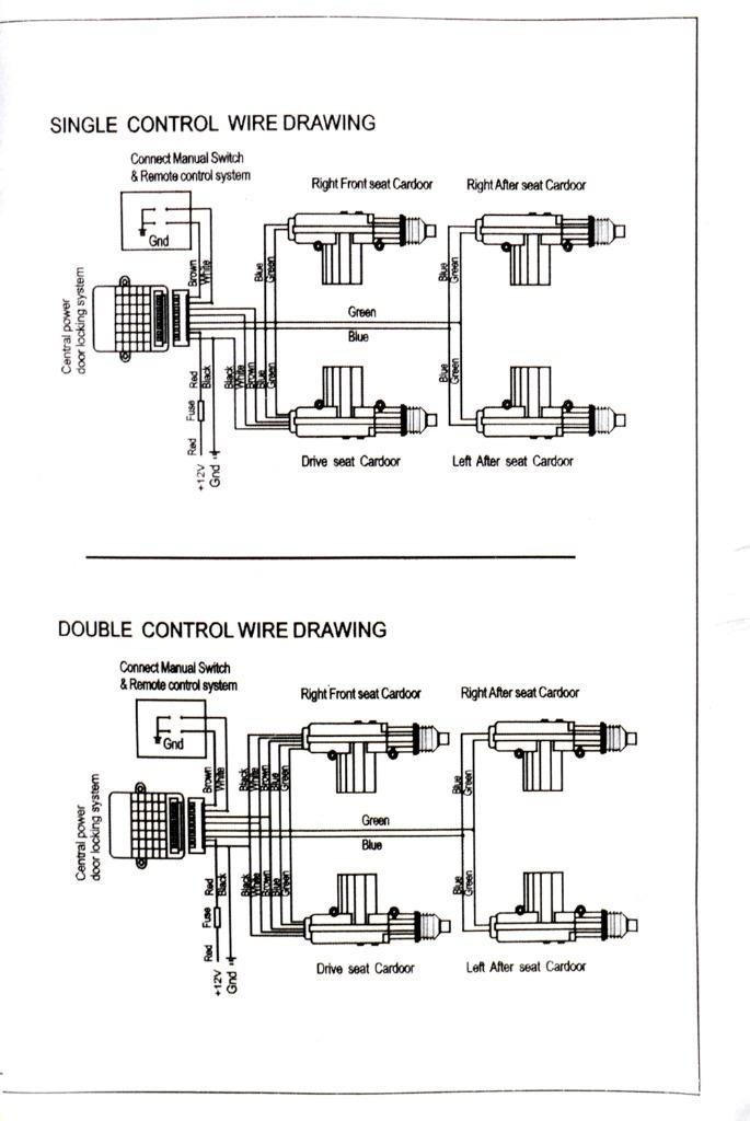 4 door power central lock kit car remote control conversion w 2 rh ebay com