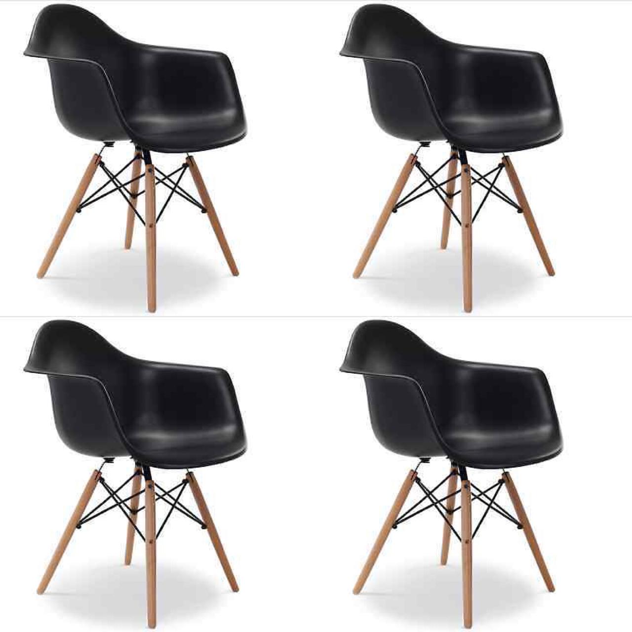 4er set st hle design eiffel stuhl esszimmerstuhl. Black Bedroom Furniture Sets. Home Design Ideas