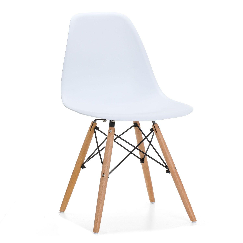 4x st hle design stuhl eiffel esszimmerstuhl k chenstuhl for Stuhl design holz