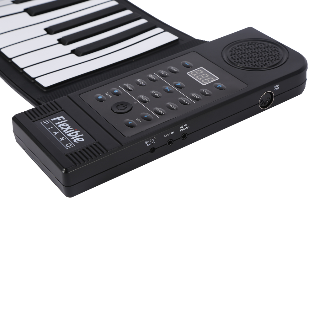 Elk Printed Portable Keyboards Lightweight 78 Keys Flexible