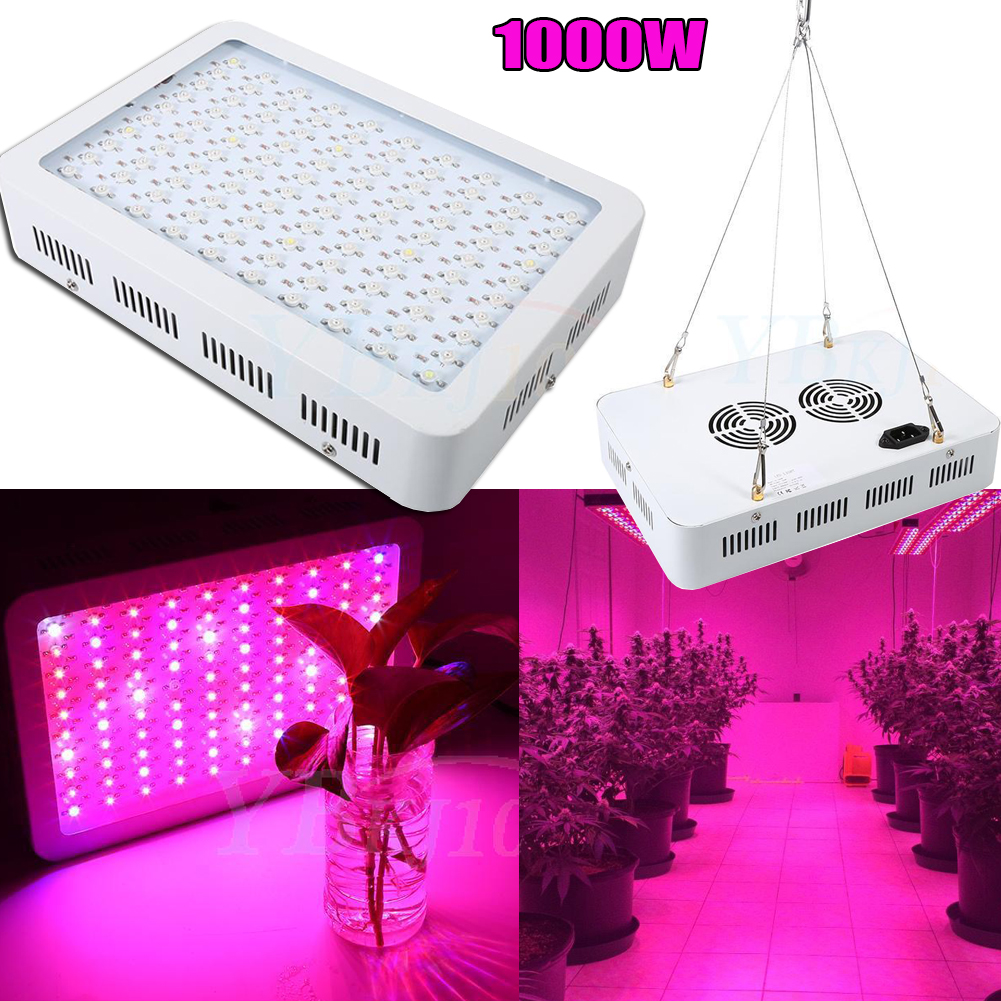 1000w Full Spectrum Led Plant Grow Light Veg Bloom Lamp