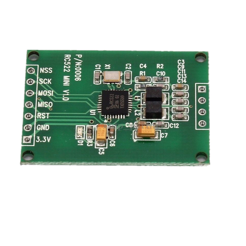 Details about 13 56MHz I2C SPI Interface IC RC522 RFID Read Write Card  Module IC Keychain