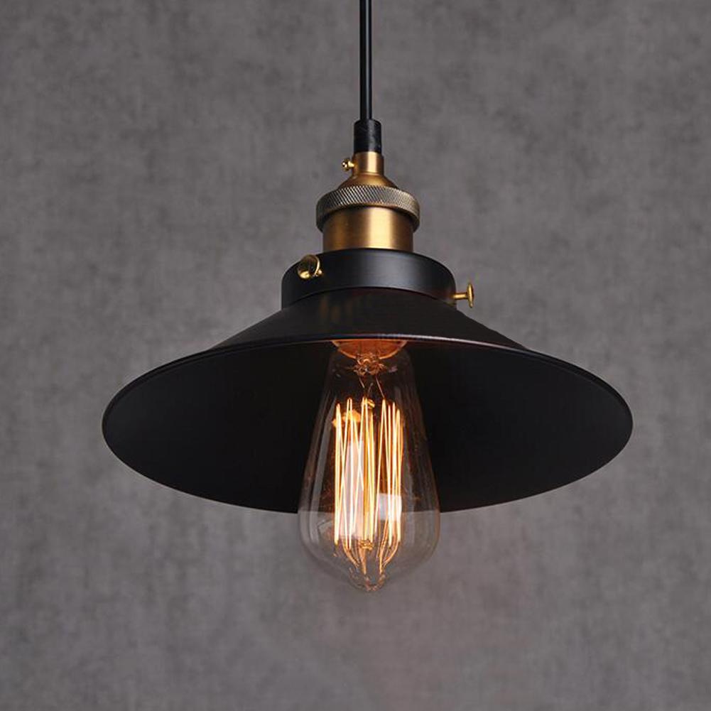 Vintage Industrial Style Retro Metal Pendant Light E27