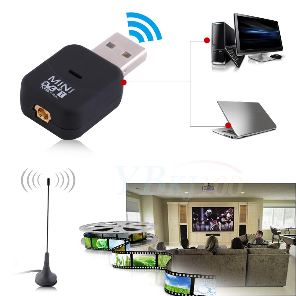 usb dvb t digital tv hdtv stick tuner receiver dongle mpeg. Black Bedroom Furniture Sets. Home Design Ideas