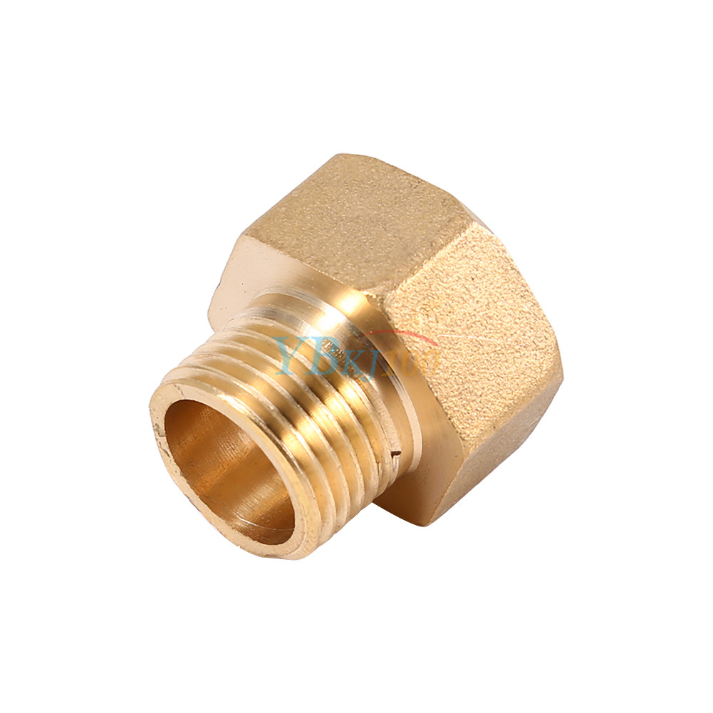 Air water pipe hex bushing reducer adapter fitting brass