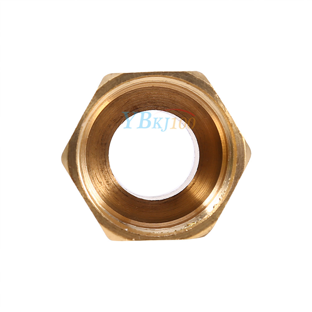 Brass hex pipe bushing reducer fittings joints pt male