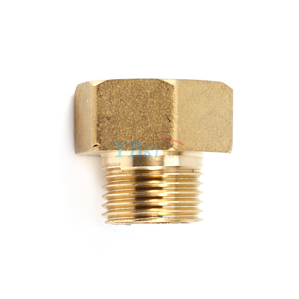 Brass water pipe hex bushing reducer fittings pt male