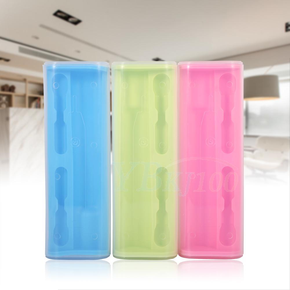 Pink Portable Electric Toothbrush Holder Travel Safe Case