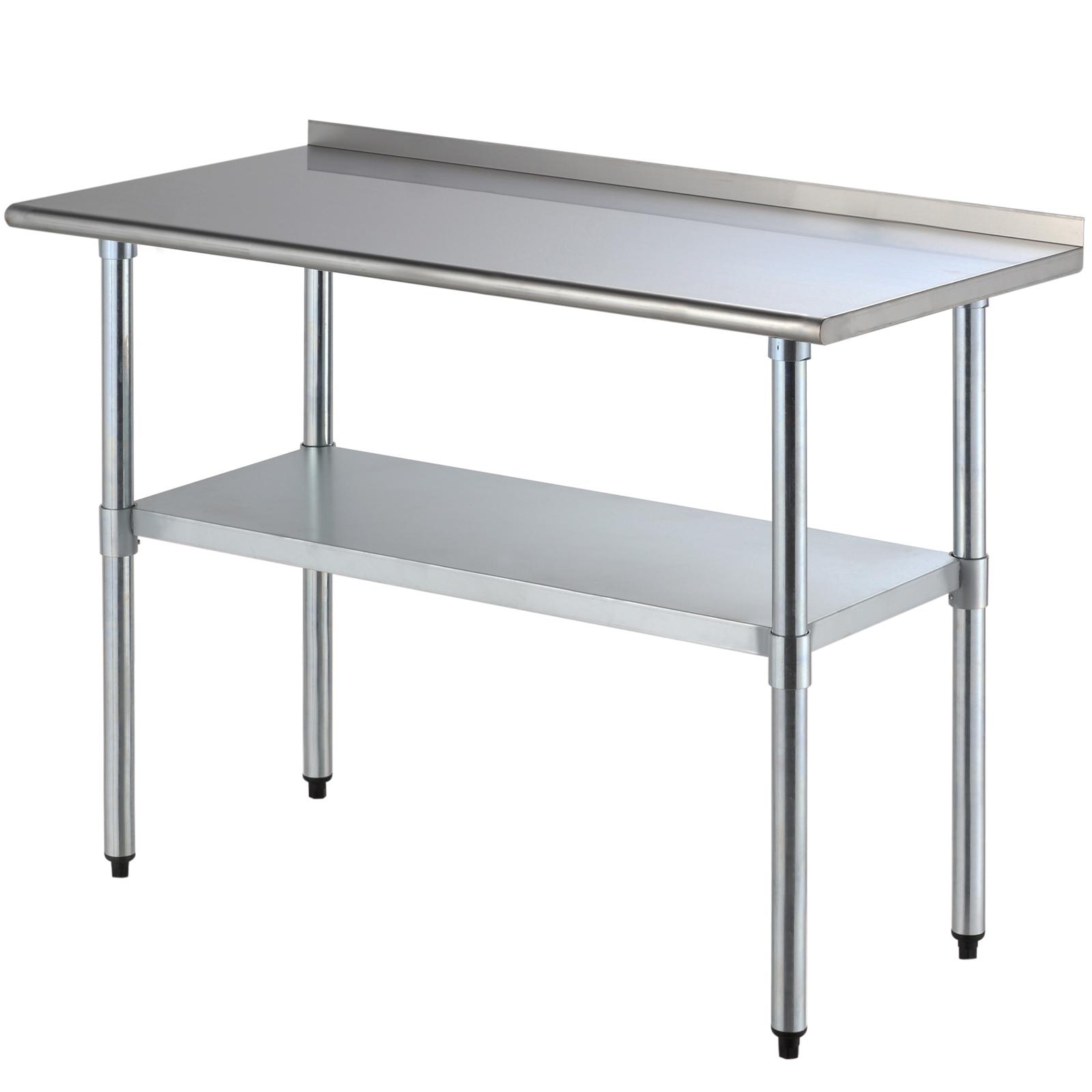 2ft 4ft Stainless Steel Kitchen Restaurant Work Prep Table