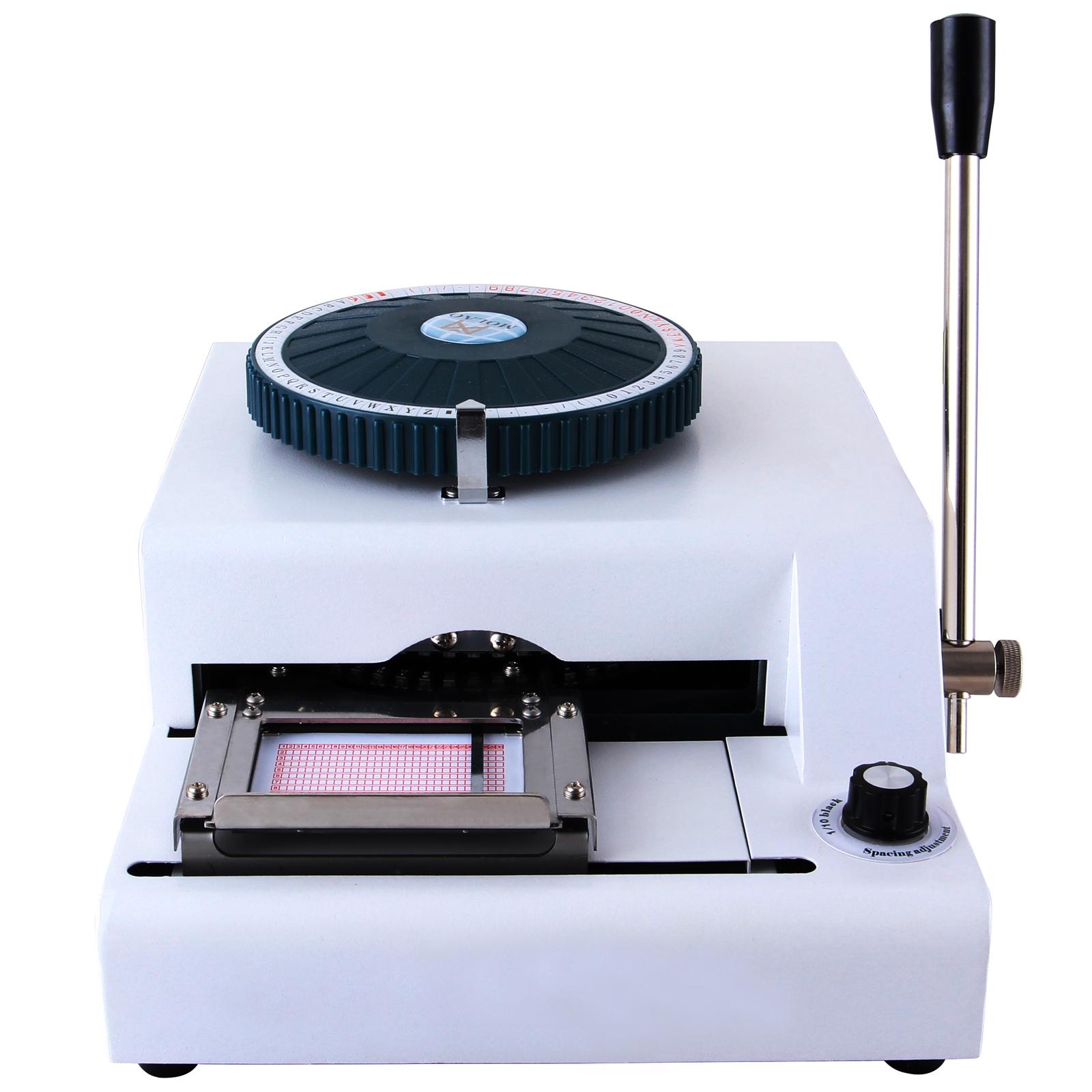 letter embosser machine