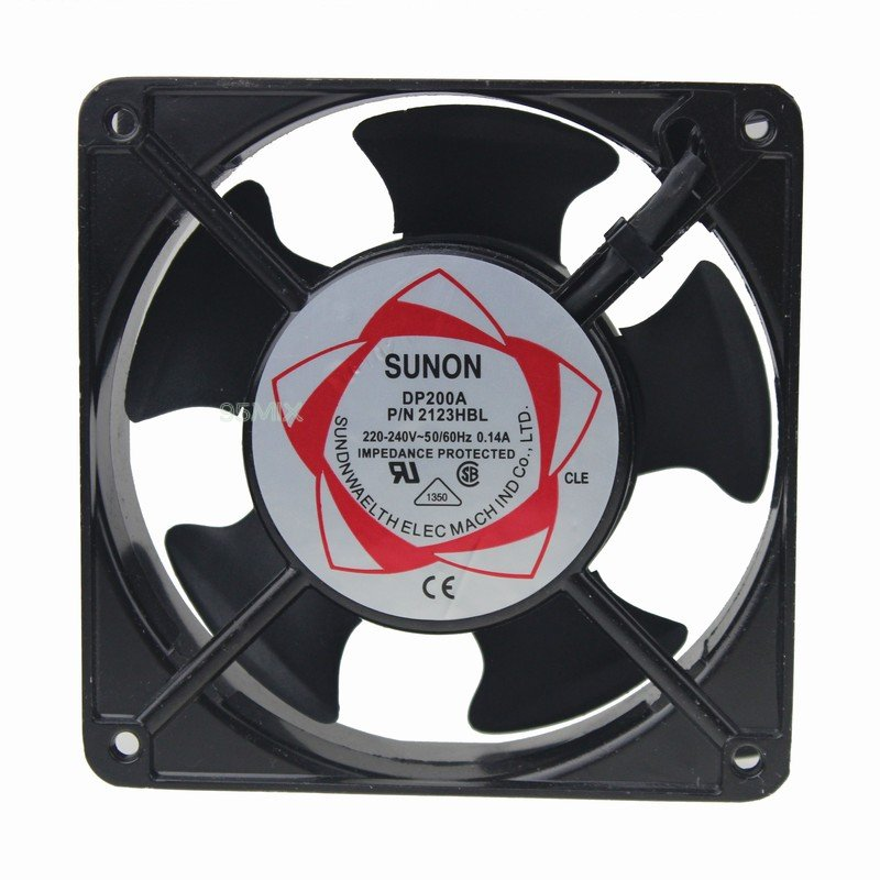 Sunon Dp200a 120mm 38mm Ac 220v Metal Industrial