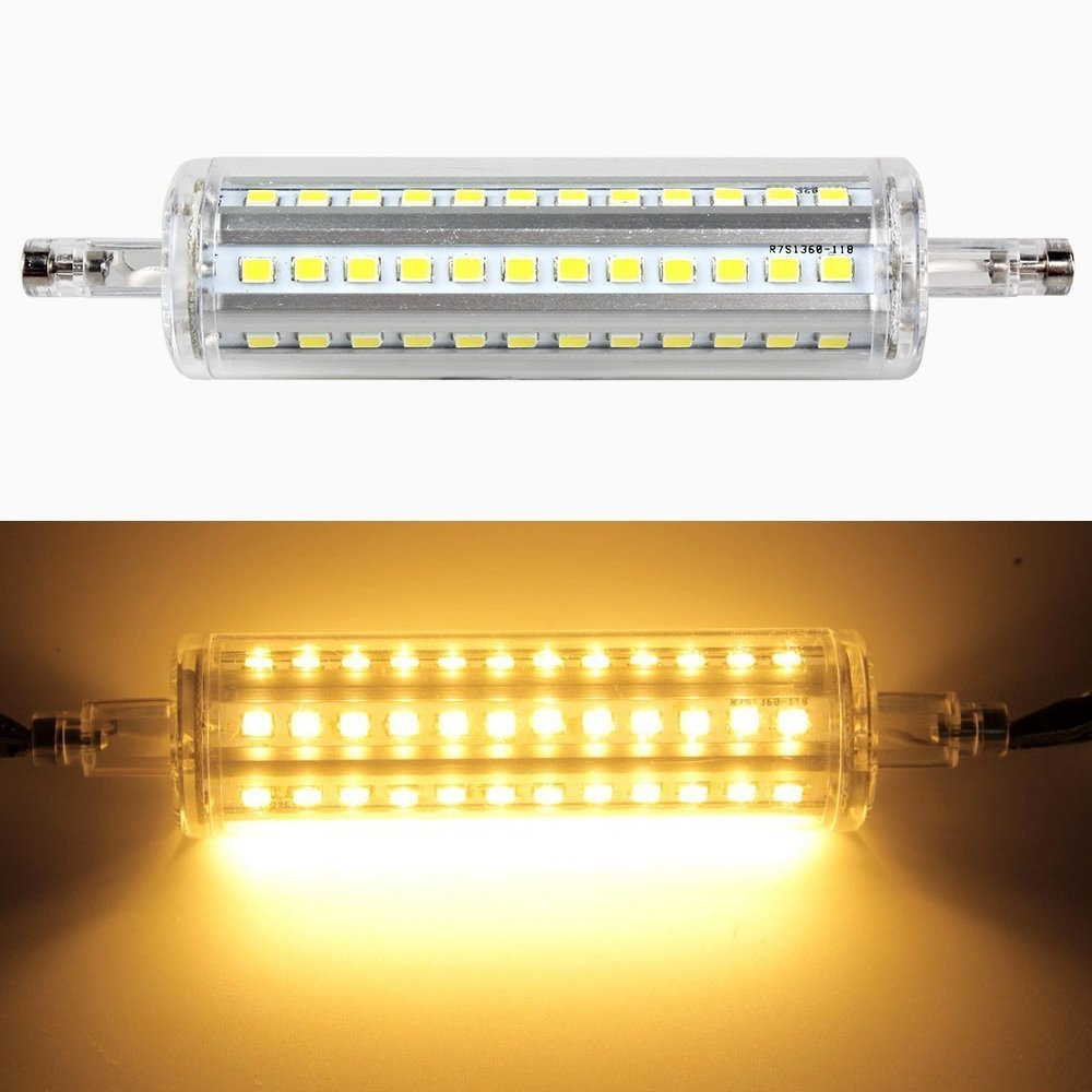10w r7s smd led leuchtmittel halogenstab brenner strahler 360 lampe warmwei ebay. Black Bedroom Furniture Sets. Home Design Ideas