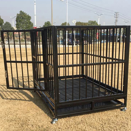 Xxl 42 Quot Dog Crate Kennel Heavy Duty Pet Cage Playpen W