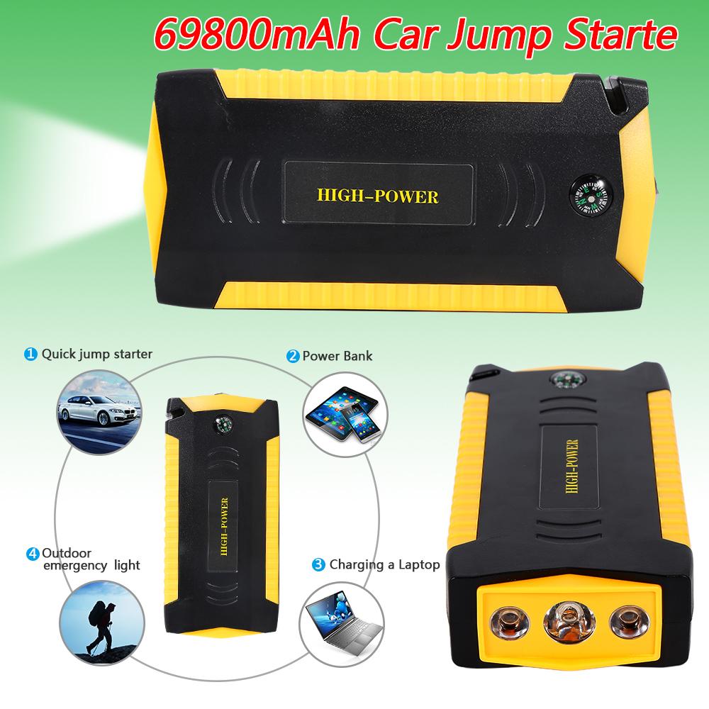 82800mah 4usb portable car jump starter pack booster. Black Bedroom Furniture Sets. Home Design Ideas