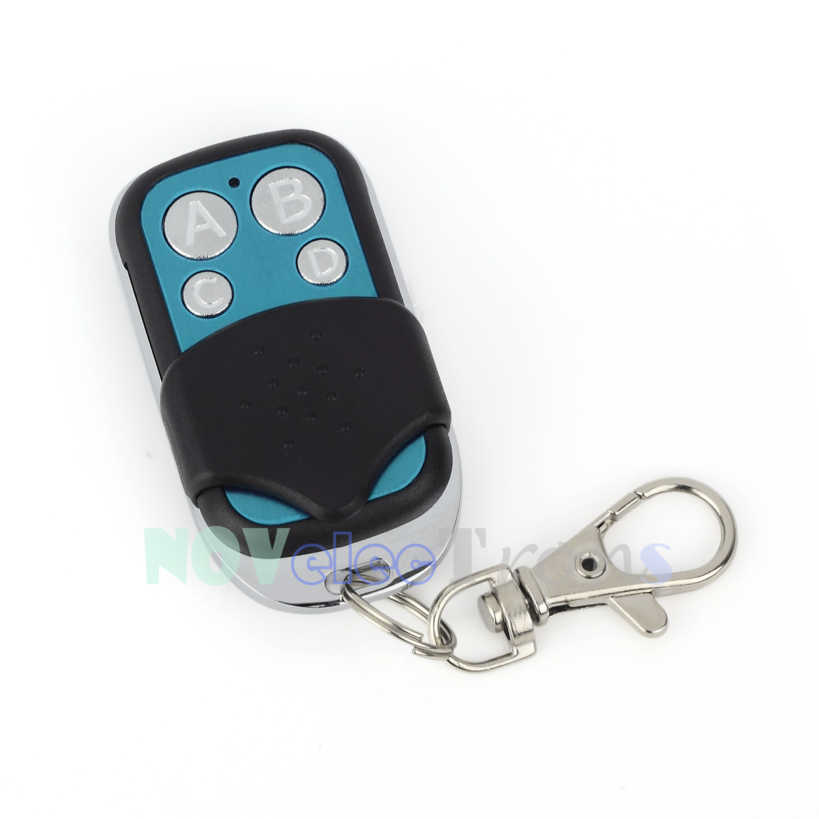 2xuniversal Electric Gate Remote Control Fob Cloning Key