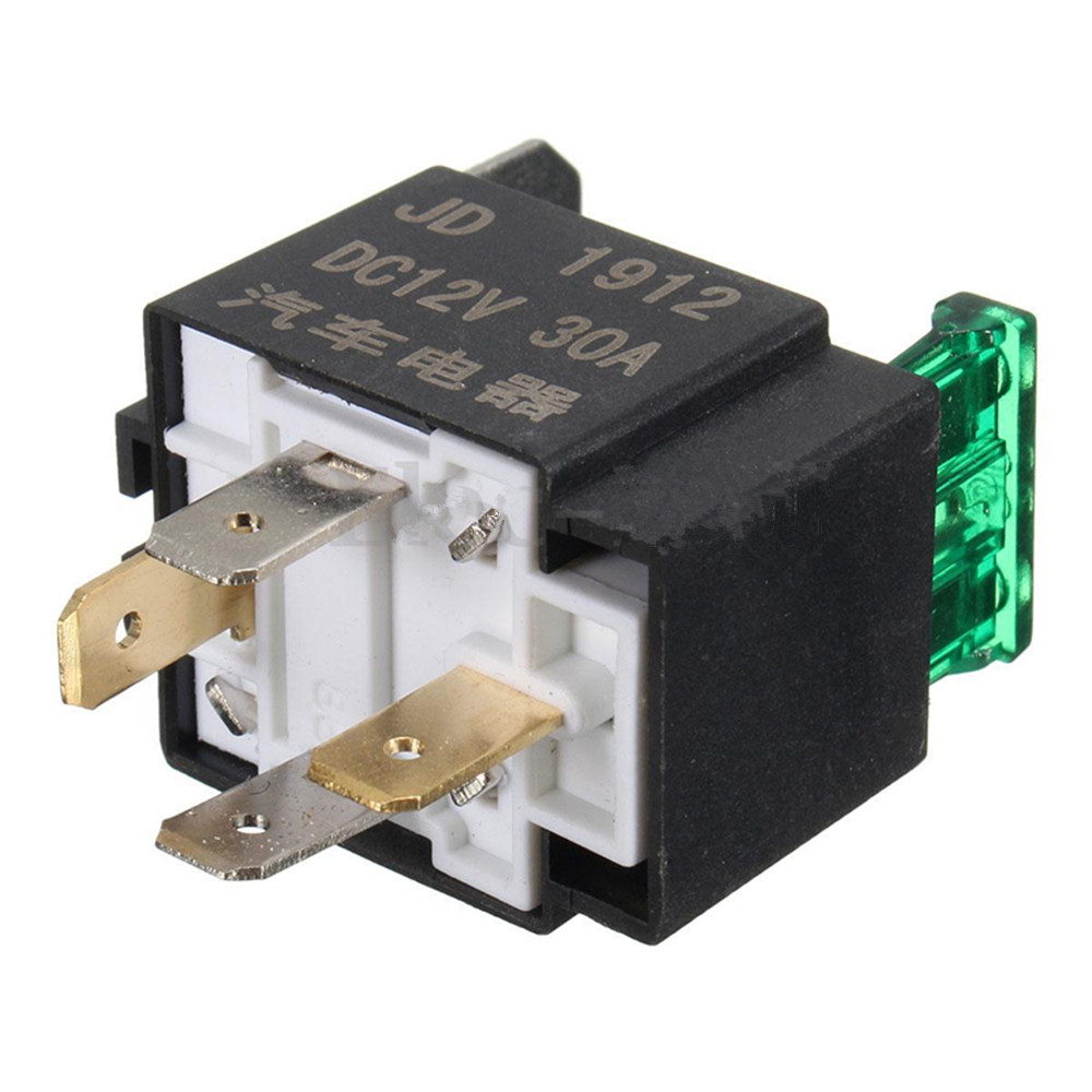 30a mini fused fuse on  off car motor auto fused relay 4