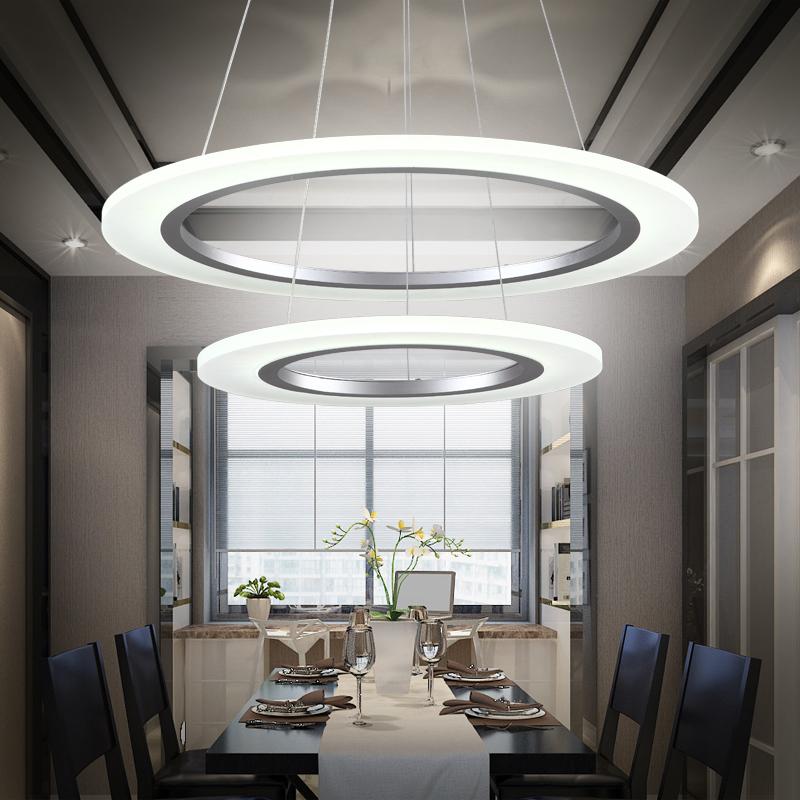 led acryl kronleuchter pendelleuchte modern l ster deckenlampe h henverstellbar ebay. Black Bedroom Furniture Sets. Home Design Ideas