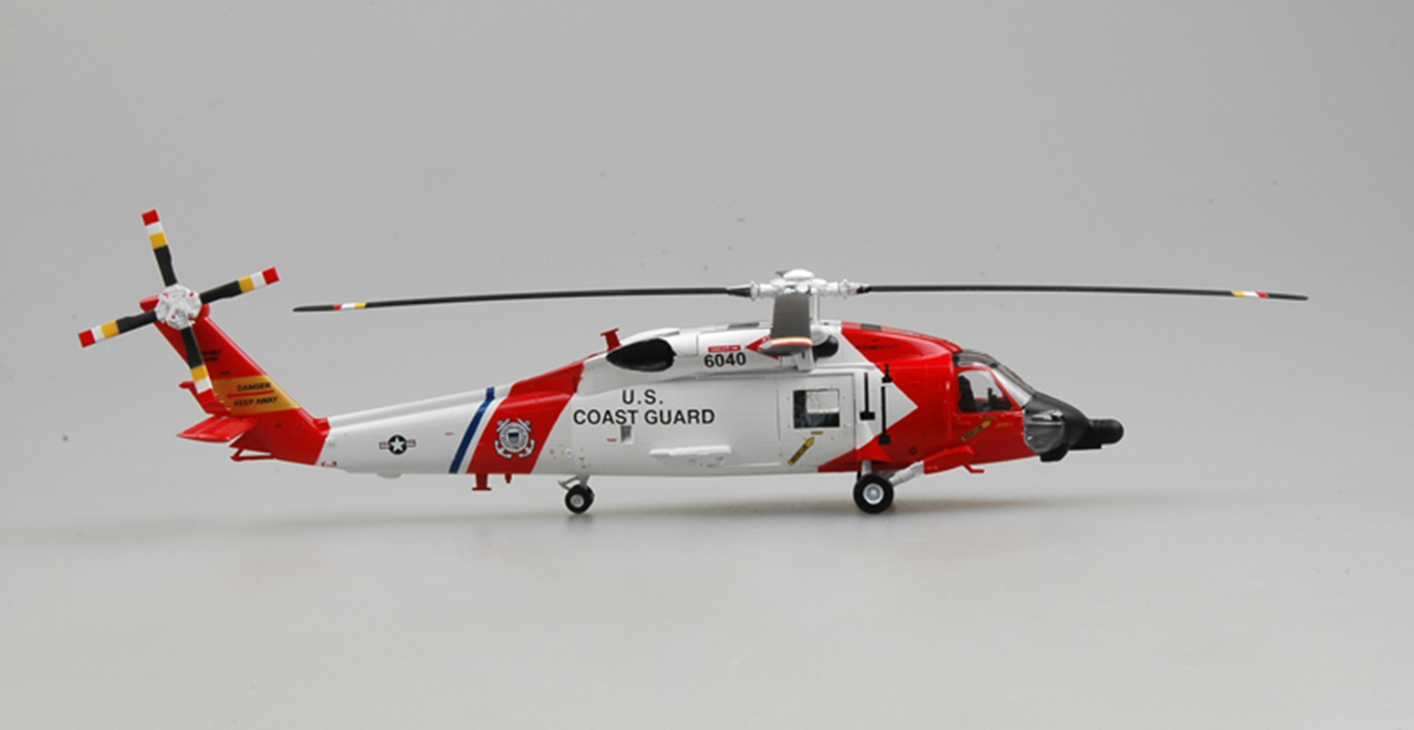 US coast guard HH-60J MH-60 jayhawk helicopter 1/72 ...